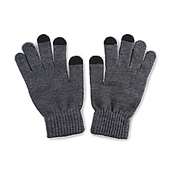 Amplified - Grey E gloves