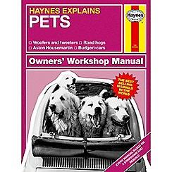 Half Moon Bay - Haynes explains pets' book