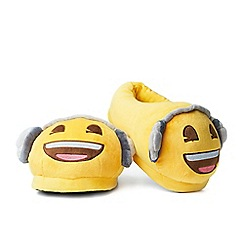 Emoji - Foot Cushions - Headphones Slippers
