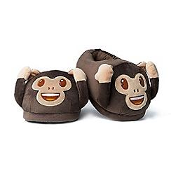 Emoji - Foot Cushions - Monkey Slippers