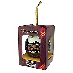 Guinness - Ruby red - Christmas bauble