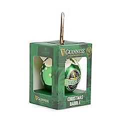 Guinness - Green 'Guinness' Christmas bauble
