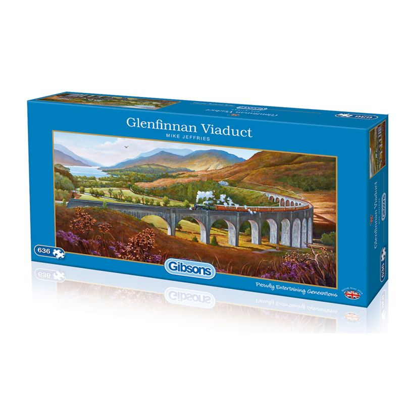 Gibsons Panoramic 636 piece jigsaw puzzle