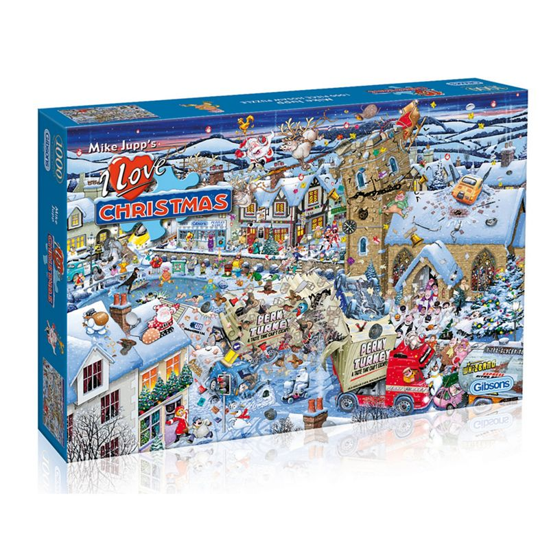 Gibsons 1000 piece jigsaw puzzle