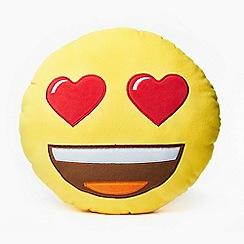 Emoji - Heart eyes cushion