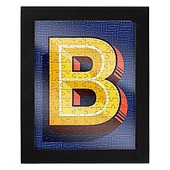 Wild & Wolf - Letter B jigsaw & frame