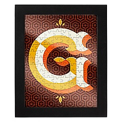 Wild & Wolf - Letter G jigsaw & frame
