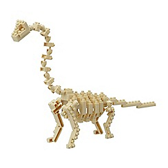 Nanoblock - Brachiosaurus skeleton model building kit - NAN-NBC114