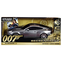 James Bond - 50th Anniversary Aston Martin Vanquish V12 Remote Control Light & Sound Car