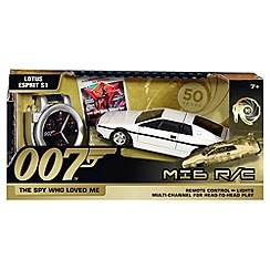 James Bond - 50th Anniversary Lotus Esprit MI6 Remote Control Car