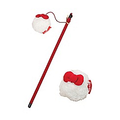 Hello Kitty - Furball Catnip Toy with Teaser