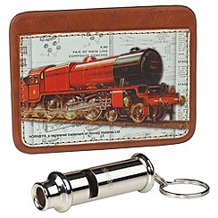 Hornby - Card Holder & Whistle Keyring
