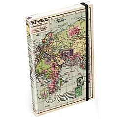 Wild & Wolf - Map A5 Notebook