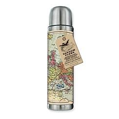 Wild & Wolf - Map Flask