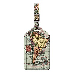 Wild & Wolf - Map Luggage Tag