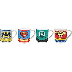 DC Comics - Justice League set of 4 character stacking mugs