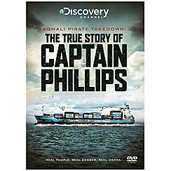 DVD - Captain Phillips The True Story - Somali Pirate Takedown  [DVD]