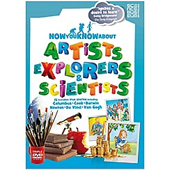 DVD - Now You Know About Artists, Explorers and Scientists [DVD]
