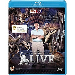 Blu-Ray - David Attenborough's Natural History Museum Alive 3D (Blu-ray 3D)