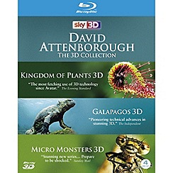 Blu-Ray - David Attenborough: The 3D Collection (Blu-ray 3D)