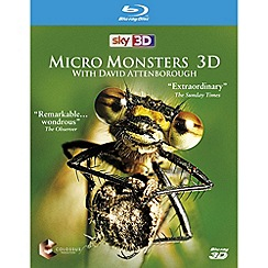 Blu-Ray - Micro Monsters with David Attenborough 3D [Blu-ray 3D]