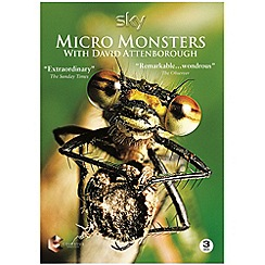 DVD - Micro Monsters with David Attenborough [DVD]
