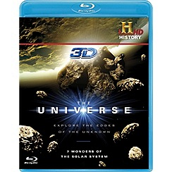 Blu-Ray - The Universe - 7 Wonders of the Solar System in 3D (Blu-ray 3D)