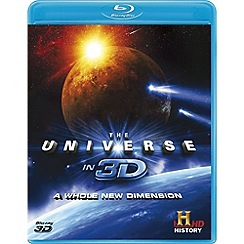 Blu-Ray - The Universe in 3D: A Whole New Dimension [Blu-ray 3D]