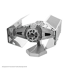 Professor Puzzle - Star Wars Metal Earth Darth Vader Tie Fighter