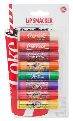 Coca Cola Coca-Cola Lip Party Pack, 8 pcs - -