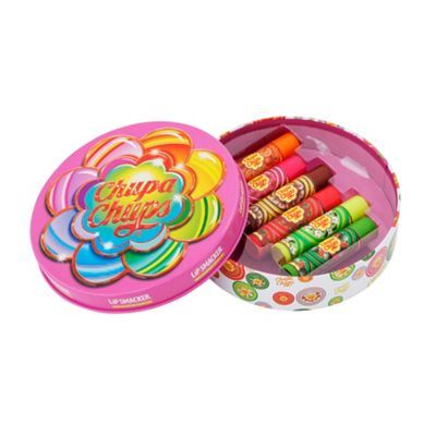 Chupa Chups Lip Balms in Round Tin Box, 6 pcs - -