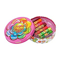 Chupa Chups - Lip Balms in Round Tin Box, 6 pcs