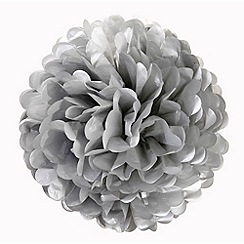 Talking Tables - Decadent Decs pom poms silver 3 pack