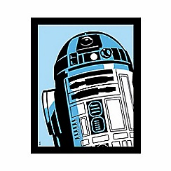 Debenhams - Illuminated Canvas - Pop Art R2-D2