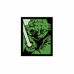 Debenhams - Illuminated Canvas - Pop Art Yoda