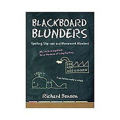 All Sorted - Blackboard blunders  book