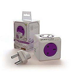 Quirky - Powercube Rewireable USB plus Travelplugs