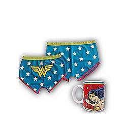DC Comics - Vintage Wonder Woman mug & Shorts set