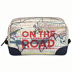 Wild & Wolf - Cartography washbag
