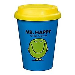 Mr Men - Mr happy travel mug