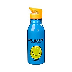 Mr Men - Mr happy water bottle