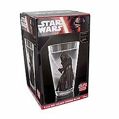 Star Wars - Kylo Ren colour change glass