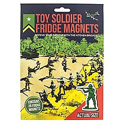Debenhams - Toy soldier fridge magnets