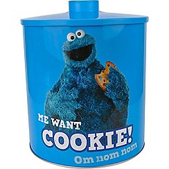 Sesame Street - Cookie Monster Biscuit Tin