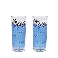 Snoopy - Peanuts Set of 2 Glasses