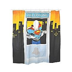Superman - Telephone Box Shower Curtain
