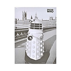 Doctor Who - Dalek A3 Tin Sign
