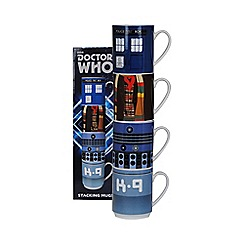 Doctor Who - Stacking Mugs