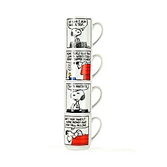 Snoopy - Peanuts Stacking Mugs