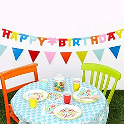 Talking Tables - Happy Birthday paper bunting